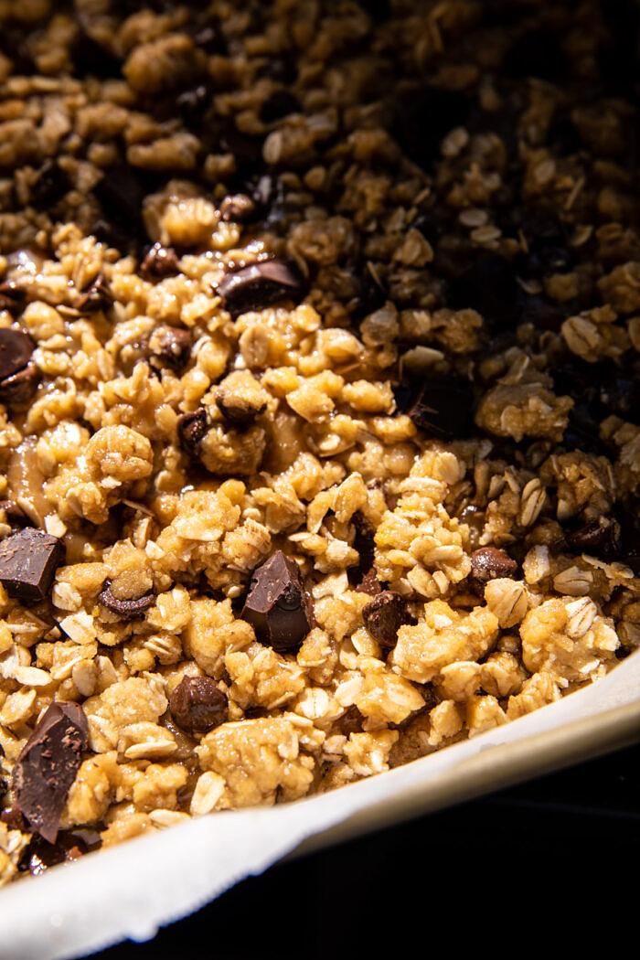 Gooey csokoládé zabliszt    halfbakedharvest.com
