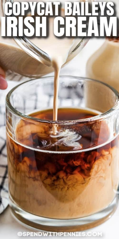 zár-megjelöl-ból Copycat Baileys ír krém a kávé írásban