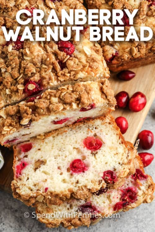 vekni áfonyás diós kenyér címmel szeletelve