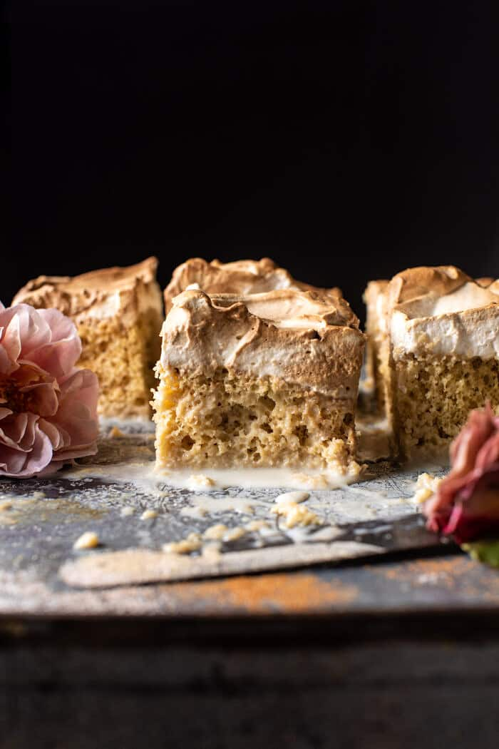 Dirty Horchata Tres Leches Cake   halfbakedharvest.com