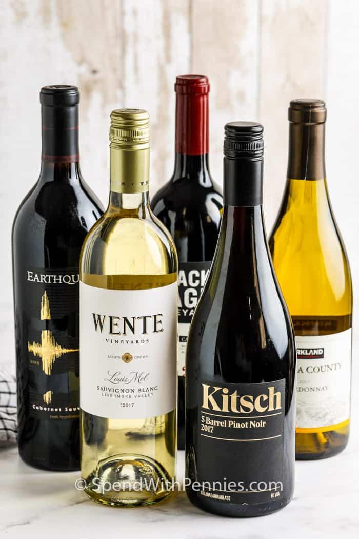 A legjobb borok az asztalon való főzéshez