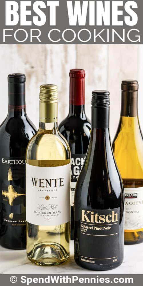 Legjobb borok főzéshez címmel