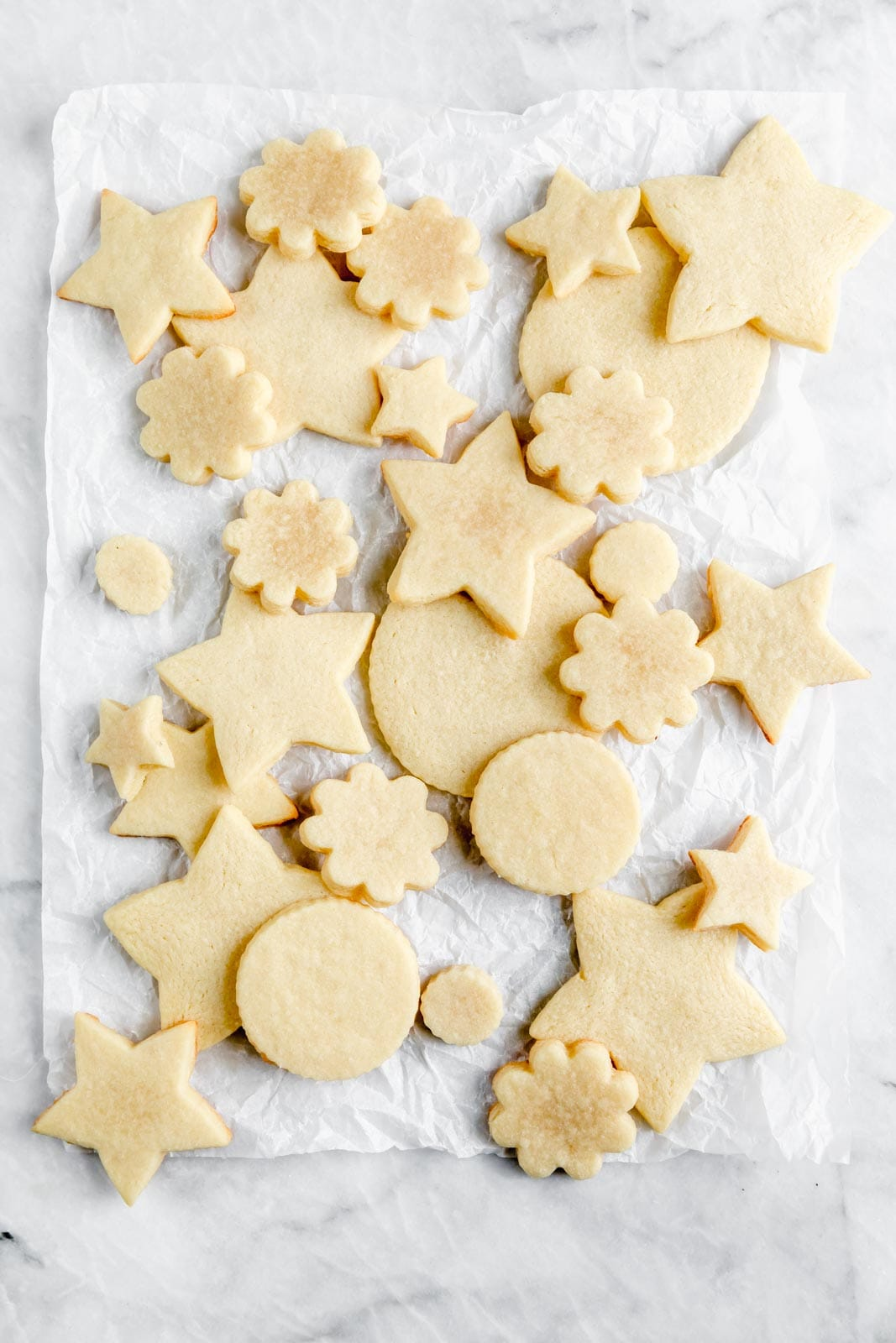 Get back to basics wtih these perfect cut out sugar cookie. Dense, chewy, and melt in your mouth buttery, we promise you won't be disappointed!