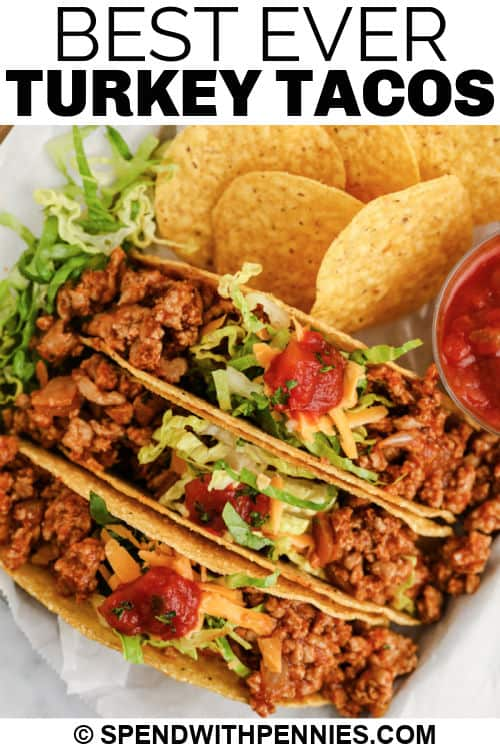 Easy Turkey Tacos címmel