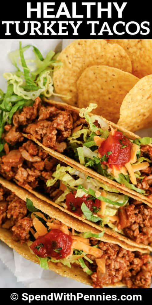 bevonva Easy Turkey Tacos írással