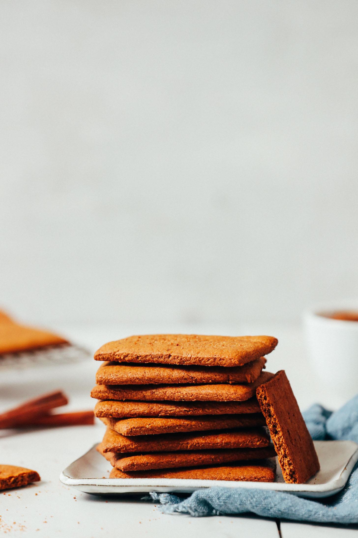 Vegán gluténmentes graham kekszek