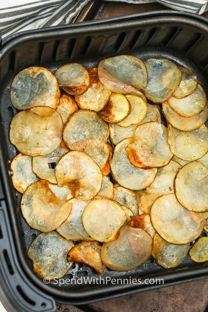 főzés légsütő burgonya chips
