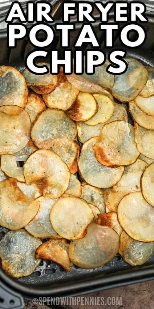 főzés Air Fryer burgonya chips, címmel