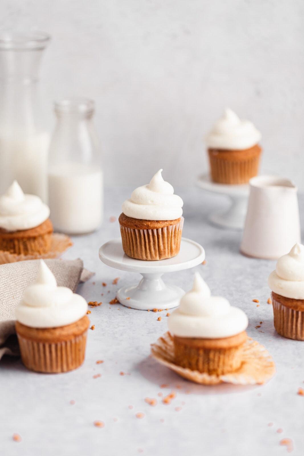 sárgarépa torta cupcakes krémsajt cukormáz
