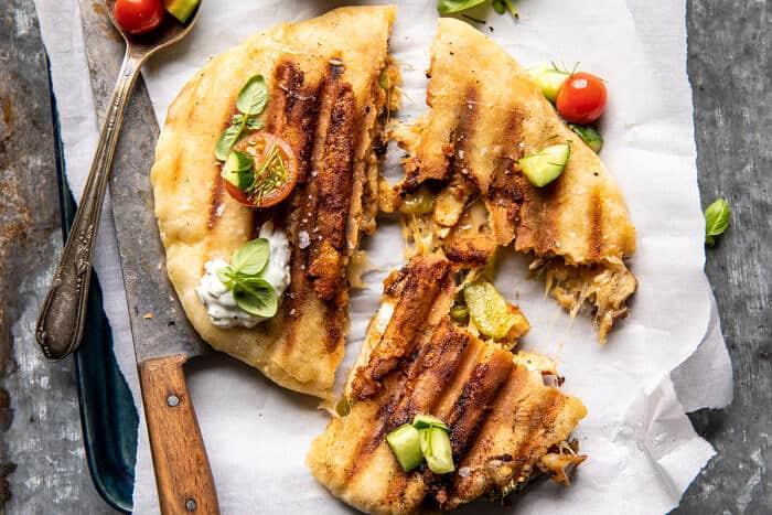 Panini stílusú csirke Gyros  halfbakedharvest.com