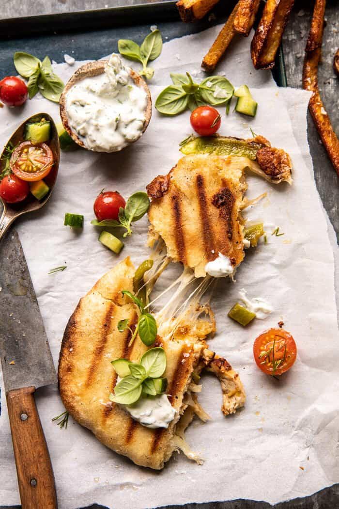 Panini stílusú csirke Gyros |  halfbakedharvest.com