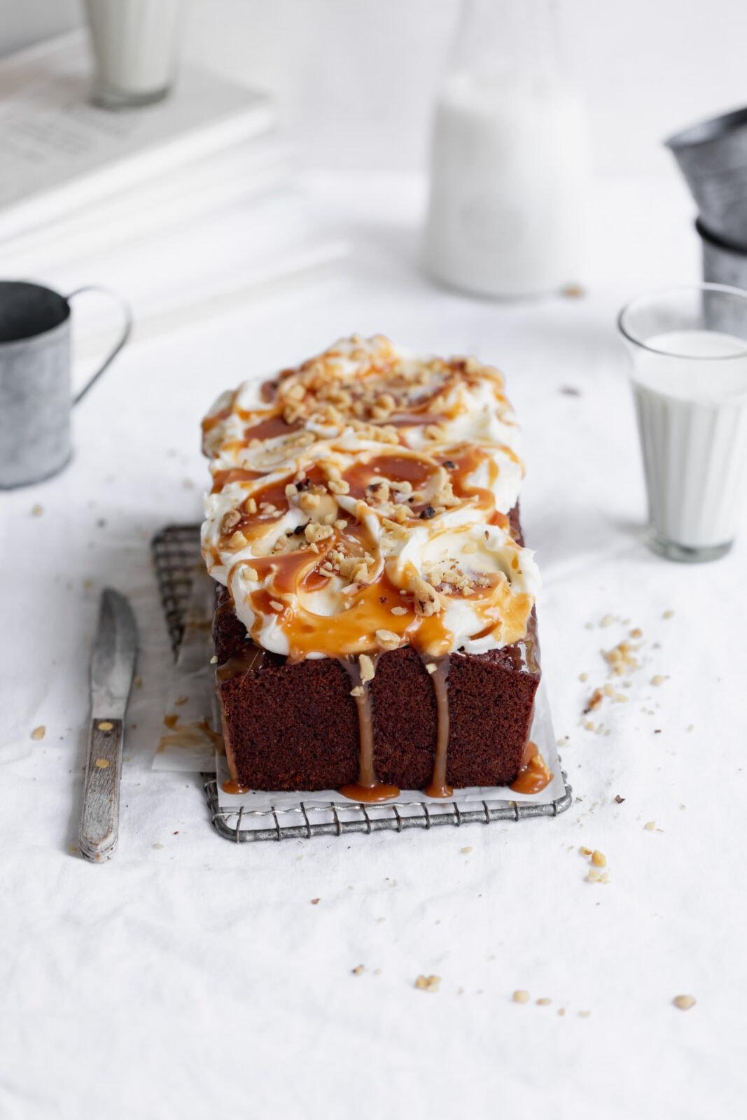egészséges sárgarépa torta kenyér torta krémsajt cukormáz