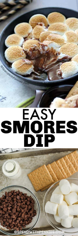Hozzávalók a Hot S'mores elkészítéséhez Mártsa be a serpenyőben lévő utolsó étellel és egy címmel