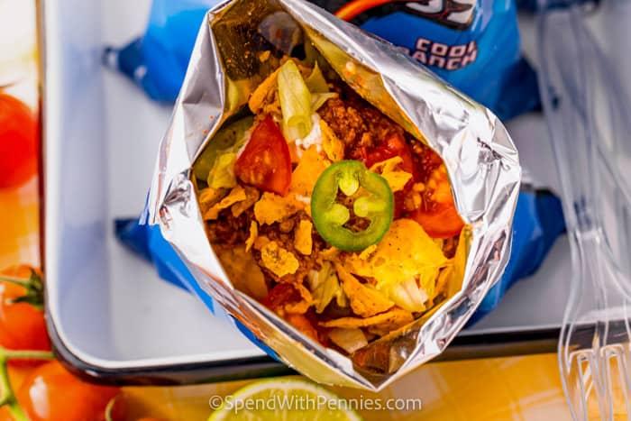 Séta Tacos chipzsákban