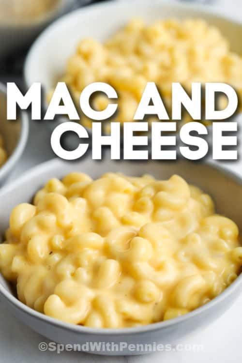 tál 15 perc Mac és sajt írással