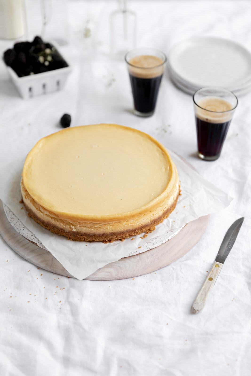 a tökéletes házi sajttorta
