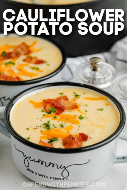 tál karfiol cheddar leves címmel