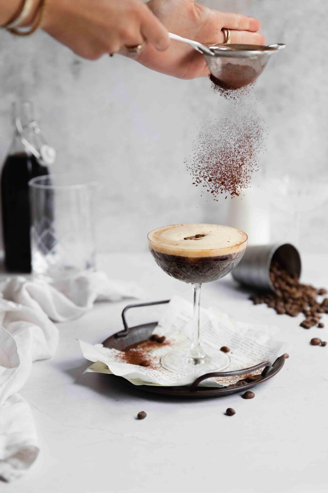 eszpresszó martini recept