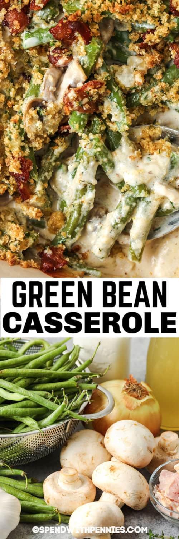 hozzávalók a házi zöldbab rakott elkészítéséhez kész étel és cím