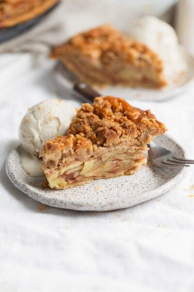 szelet holland almás pite