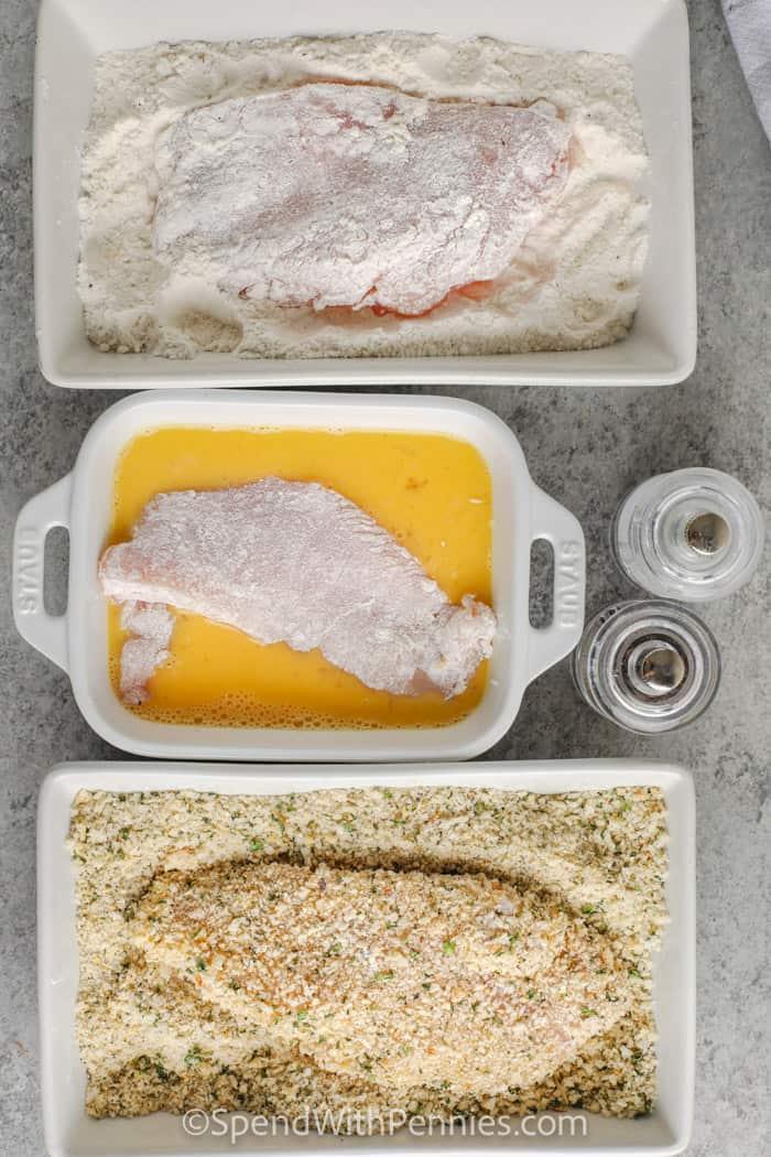 bevonó csirke rántott sült csirke készítéséhez