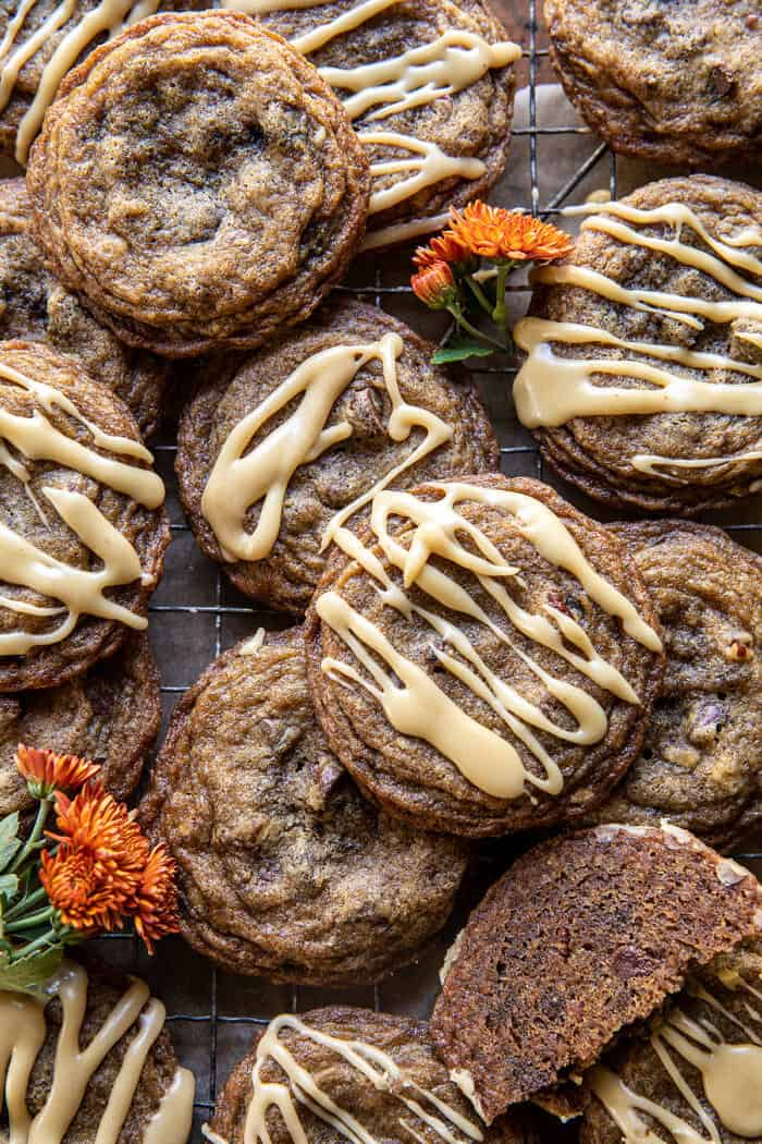Chewy Brown Sugar Maple Cookies   halfbakedharvest.com