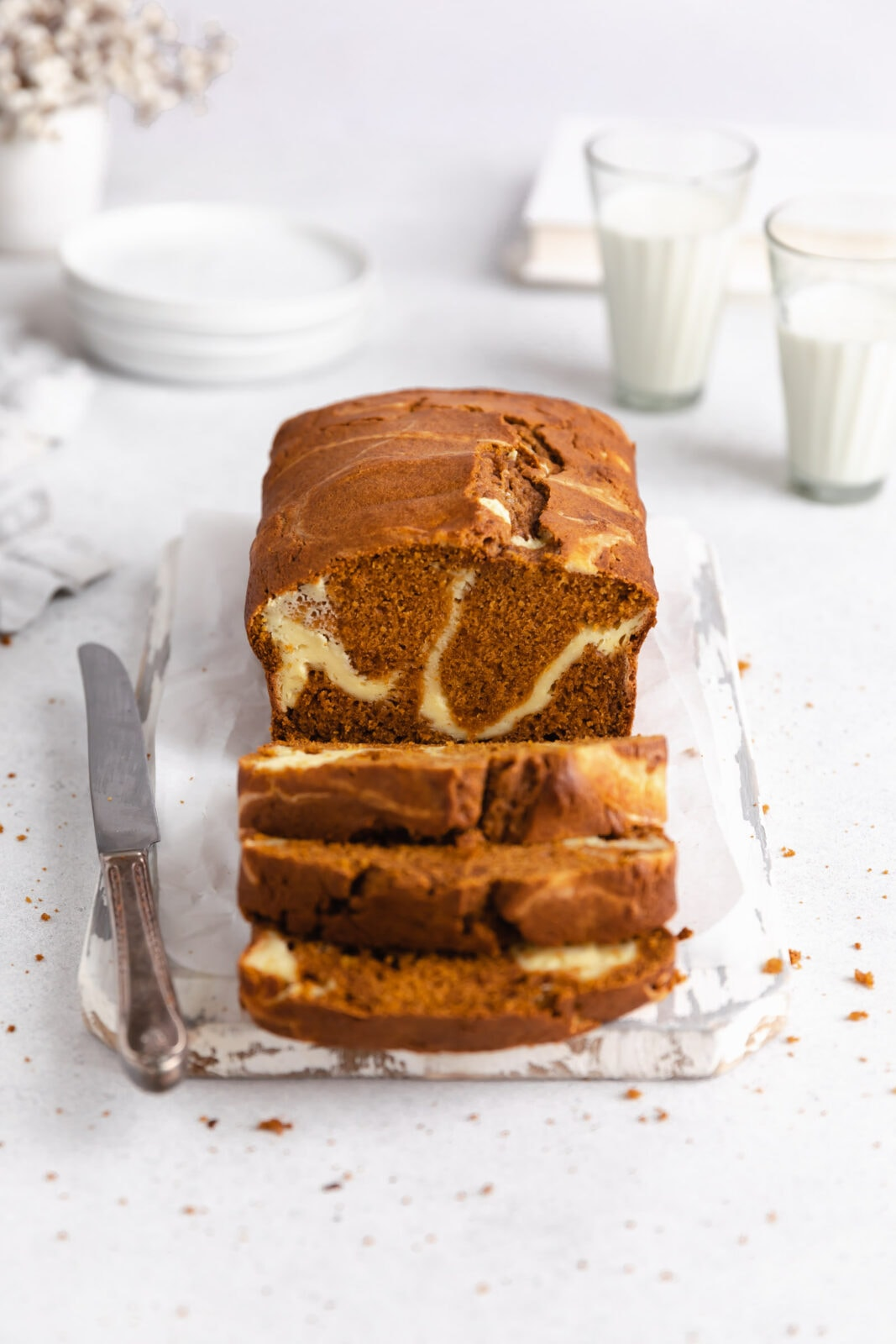 szuper nedves sütőtök kenyér