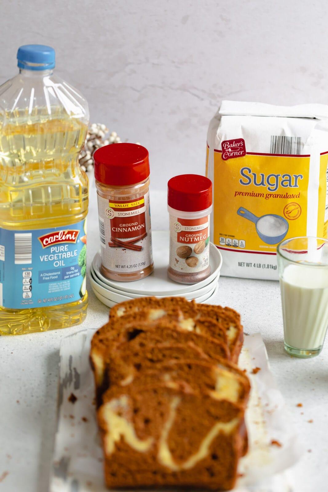 krémsajt hozzávalói örvénylik a sütőtök kenyeret