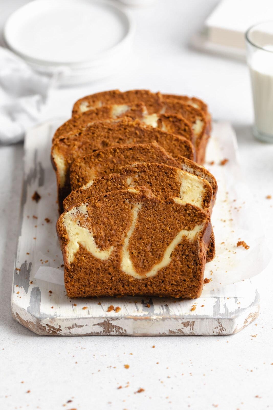 tök kenyér sajtkrémmel örvény